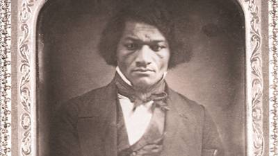 Statue of Frederick Douglass torn from base on anniversary of famous speech
