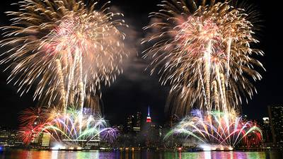 Photos: Macy's brings July 4th fireworks to NYC