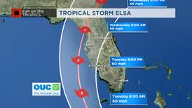 Parts of Florida under Tropical Storm Watch as Elsa to make landfall in Cuba on Monday