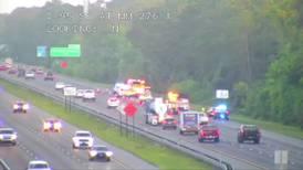 I-95 van crash kills 3, injures 8, troopers say
