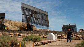 We build the Wall Inc finishes first private border wall in three days