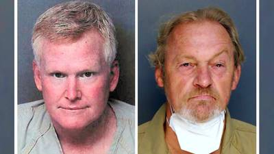 Attorney Alex Murdaugh turns himself in on charges he plotted own killing