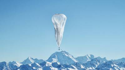 Balloons launched into sky to provide internet access