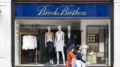 Clothing company Brooks Brothers files for bankruptcy