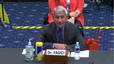 Fauci warns of 'disturbing surge' in new Coronavirus cases