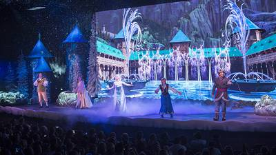 Florida man arrested for assaulting woman at Disney's Frozen show