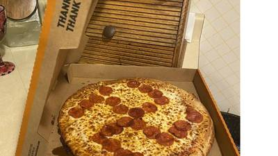 Hate by pizza - two fired after swastika is shaped out of pepperoni