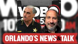 Sheriff Mike Chitwood joins Orlando's Evening News after hit-and-run bicycle crash